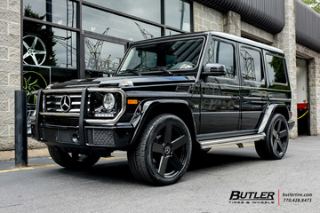 Mercedes G-Class with 22in TSW Bristol Wheels