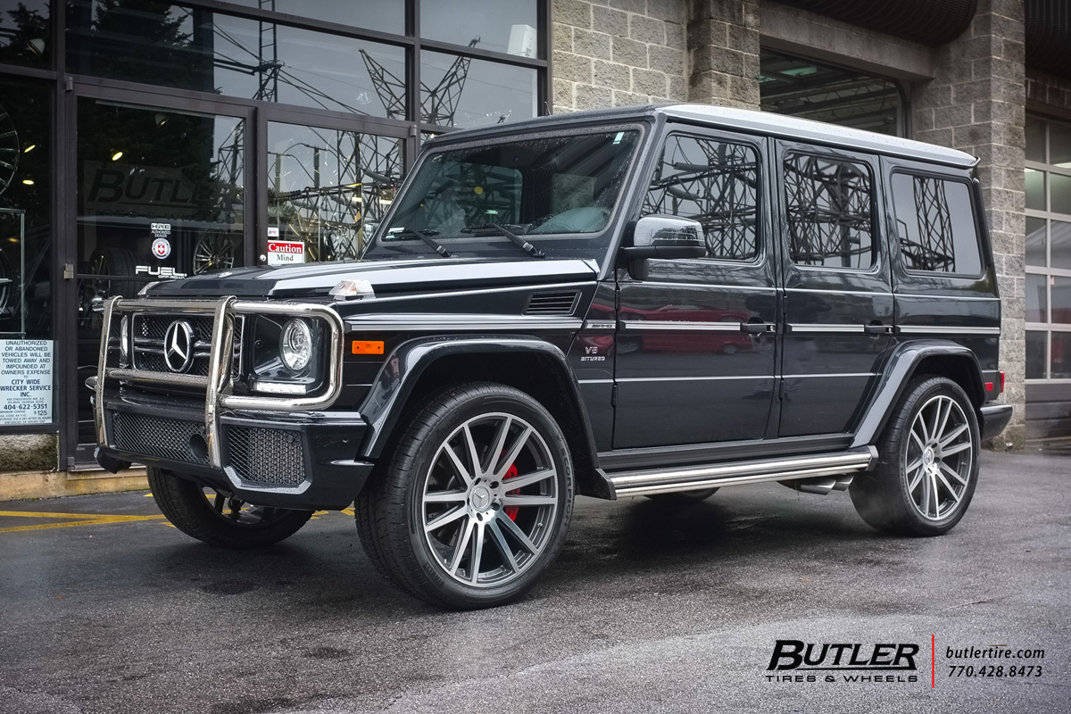 Mercedes G-Class with 22in TSW Gatsby Wheels