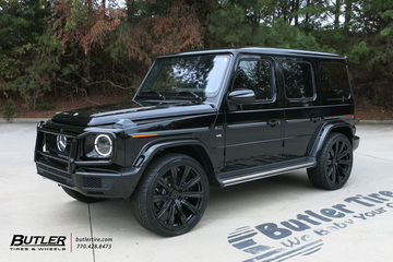 Mercedes G-Class with 24in Avant Garde AGL-Vanguard Wheels