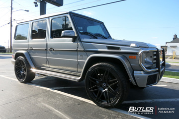 Mercedes G-Class with 24in Avant Garde AGL44 Wheels