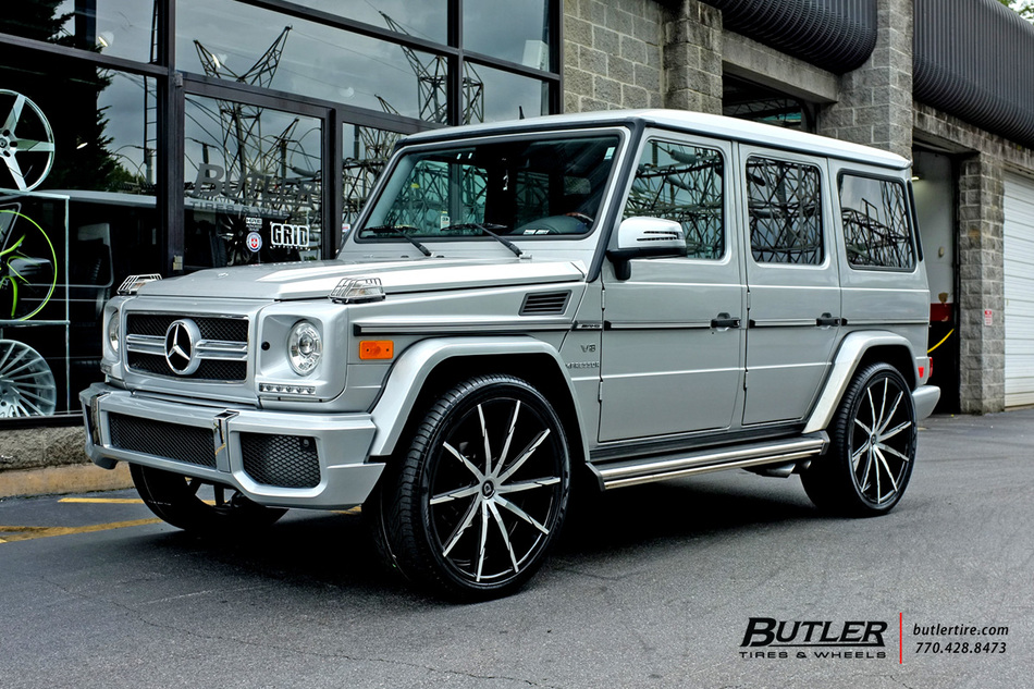 Mercedes Benz Of Buckhead >> Mercedes G-Class with 24in Lexani CSS15 Wheels exclusively ...