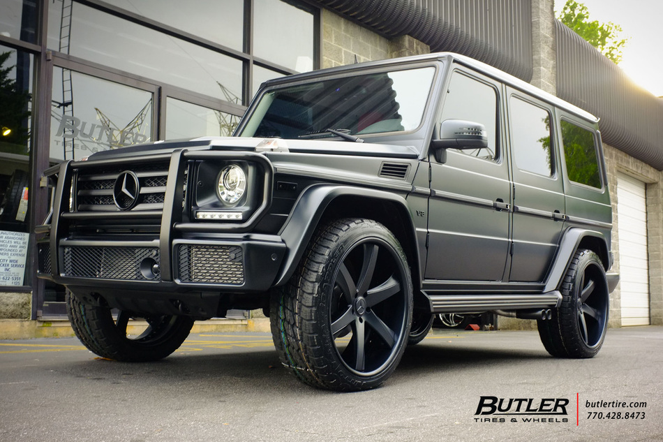 Mercedes G Class With In Savini Sv C Wheels Large