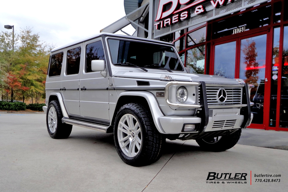 Mercedes g class with 20in tsw gatsby wheels exclusively for Mercedes benz tire inflator