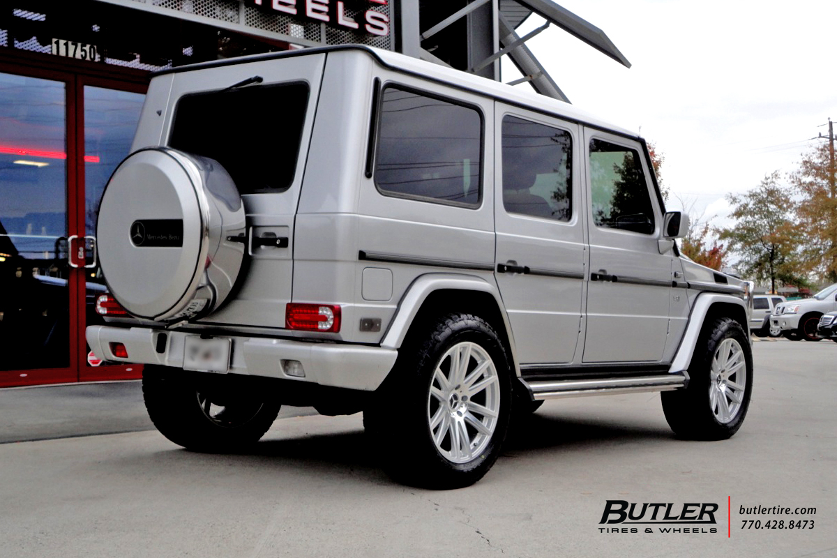 Mercedes G-Class with 20in TSW Gatsby Wheels