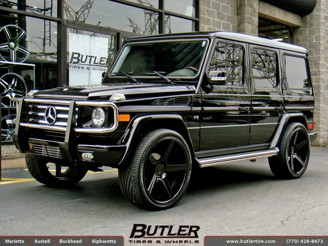 Mercedes G Class With 24in Dub 1 Five Wheels Exclusively