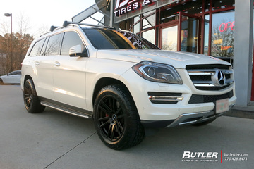 Mercedes GL-Class with 20in TSW Gatsby Wheels