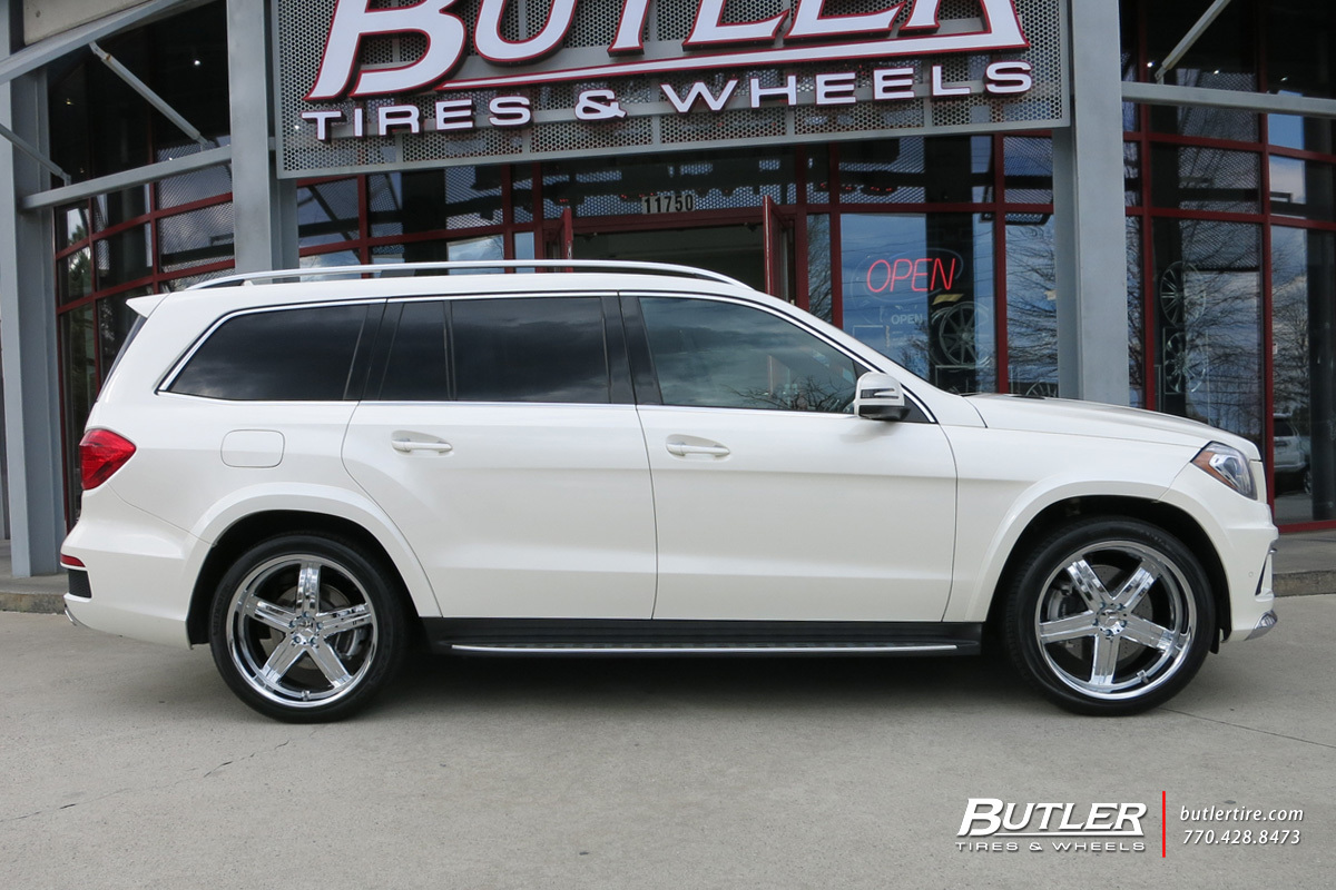 mercedes gl class with 22in mandrus mannheim wheels exclusively from butler tires and wheels in. Black Bedroom Furniture Sets. Home Design Ideas