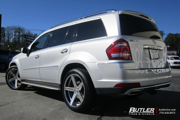 Mercedes GL-Class with 22in TSW Mirabeau Wheels