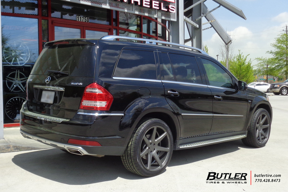Mercedes Gl Class With 22in Vossen Cv7 Wheels Exclusively From Butler Tires And Wheels In