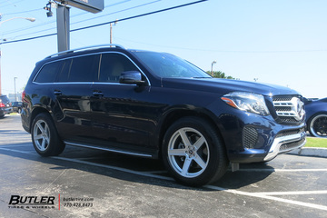 Mercedes GL450 with 20in TSW Ascent Wheels