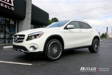 Mercedes GLA with 20in Mandrus 23 Wheels
