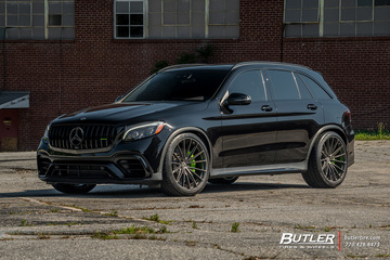 Mercedes GLC with 22in HRE P103 Wheels