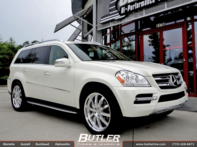 Mercedes GL-Class with 22in Mandrus Wilhelm Wheels