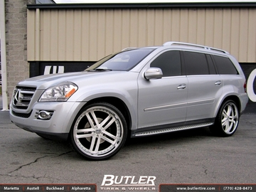 Mercedes GL-Class with 24in DUB Type 60 Wheels