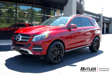 Mercedes GLE with 22in Mandrus Wolf Wheels