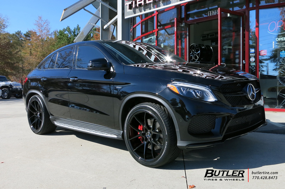 Mercedes Benz Of Buckhead >> Mercedes GLE with 22in Savini BM14 Wheels exclusively from Butler Tires and Wheels in Atlanta ...