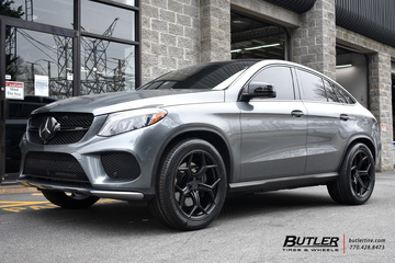 Mercedes GLE with 22in XO Helsinki Wheels