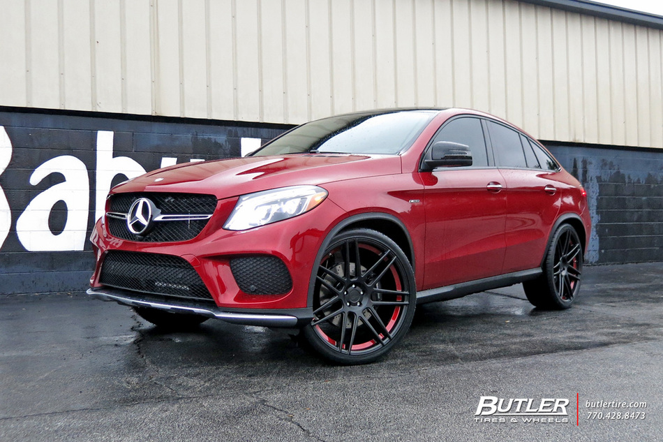 Mercedes GLE with 24in Niche Esses Wheels exclusively from ...