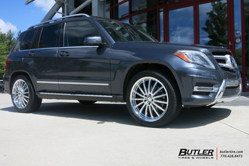 Mercedes GLK with 20in Mandrus Millenium Wheels