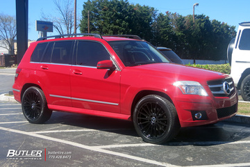Mercedes GLK with 20in TSW Luco Wheels