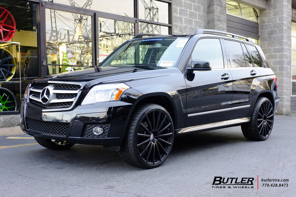 Mercedes Glk With 22in Mandrus Rotec Wheels Exclusively