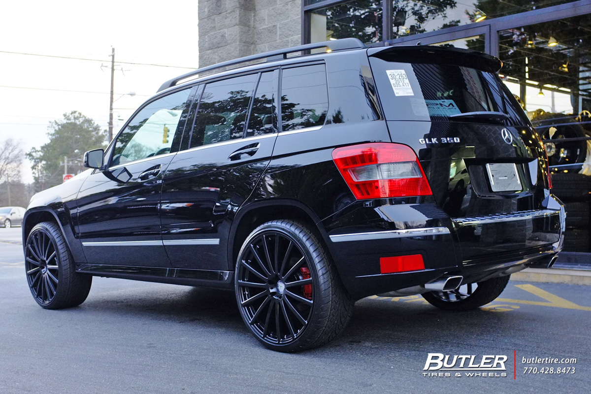 Mercedes GLK with 22in Mandrus Rotec Wheels