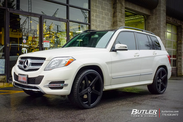 Mercedes GLK with 22in Savini BM11 Wheels