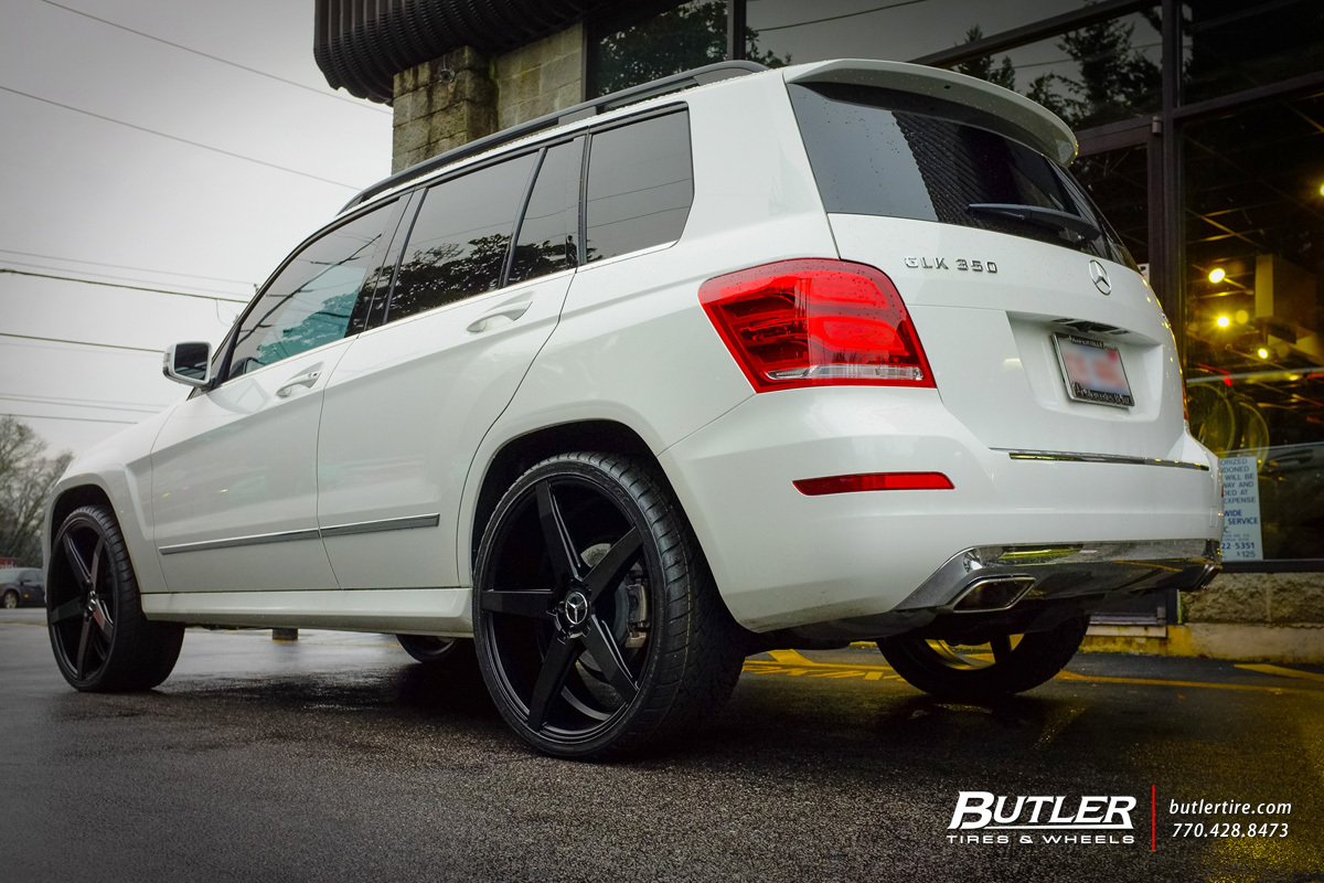 Mercedes GLK with 22in Savini BM11 Wheels exclusively from ...