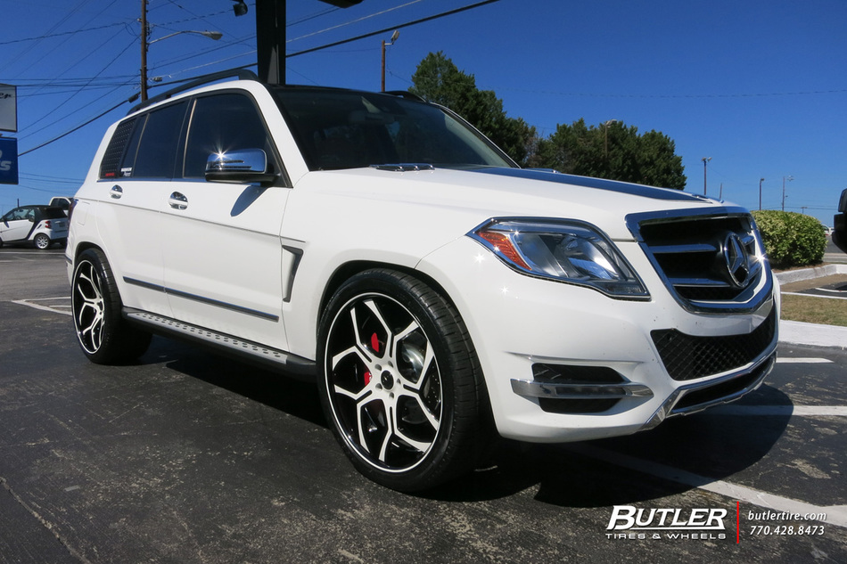 Mercedes GLK with 22in Savini SV53 Wheels exclusively from ...