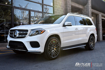Mercedes GLS with 22in Savini BM13 Wheels