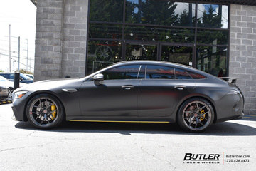 Mercedes GT with 21in Vossen S21-01 Wheels