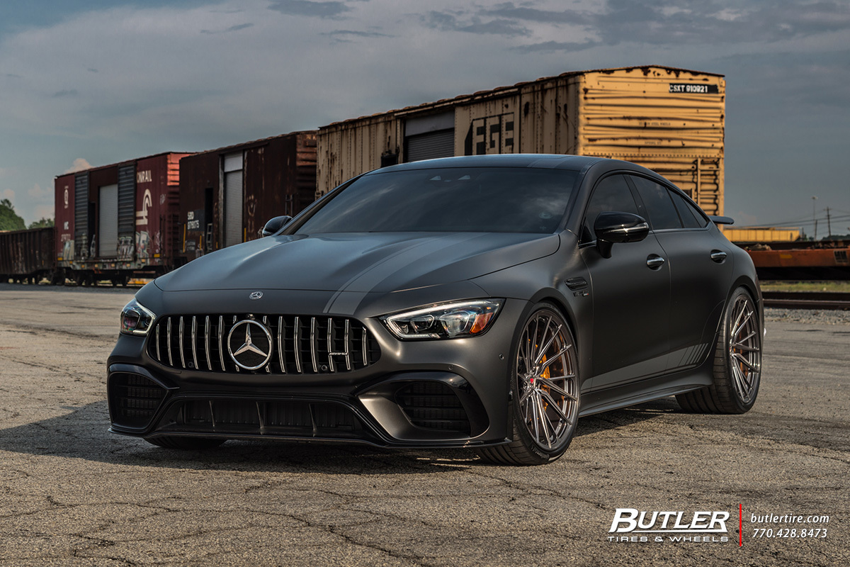 Mercedes GT with 22in Vossen M-X4T Wheels
