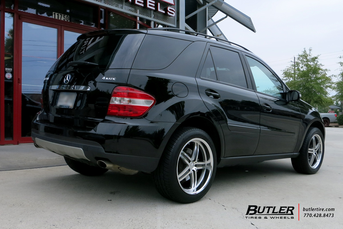 mercedes ml class with 20in mandrus mannheim wheels exclusively from butler tires and wheels in. Black Bedroom Furniture Sets. Home Design Ideas