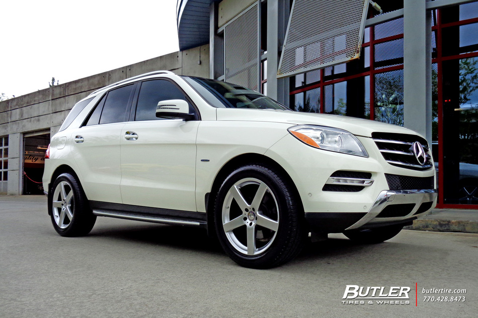 mercedes ml class   tsw rivage wheels exclusively  butler tires  wheels