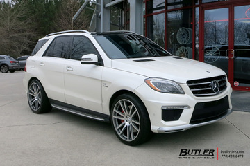 Mercedes ML-Class with 22in TSW Gatsby Wheels
