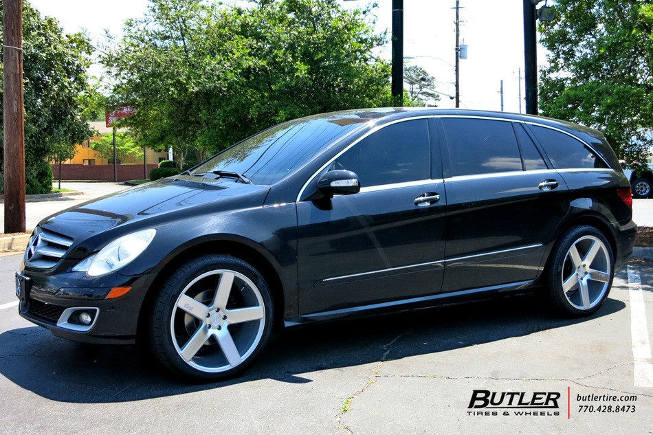 Mercedes R-Class with 22in Niche Milan Wheels exclusively from Butler Tires and Wheels in ...