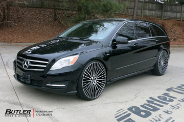 Mercedes R-Class with 26in AG Luxury AGL65 Wheels