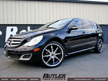 Mercedes R-Class with 22in Savini BS3 Wheels
