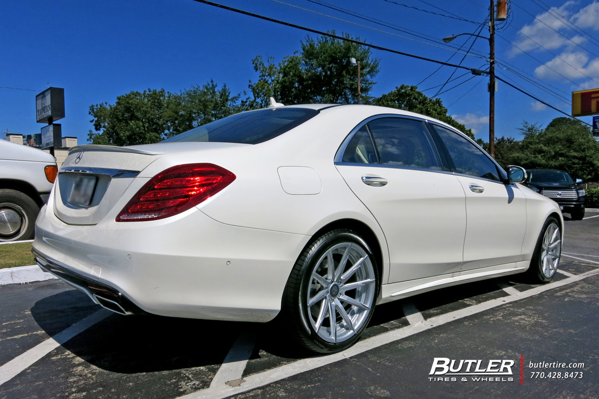 Mercedes S-Class with 20in Lexani CSS15 Wheels