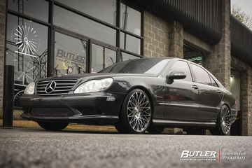 Mercedes S-Class with 20in Lexani CSS16 Wheels
