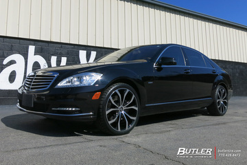 Mercedes S-Class with 20in Lexani Lust Wheels