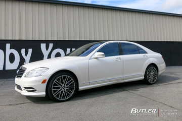 Mercedes S-Class with 20in Mandrus Masche Wheels