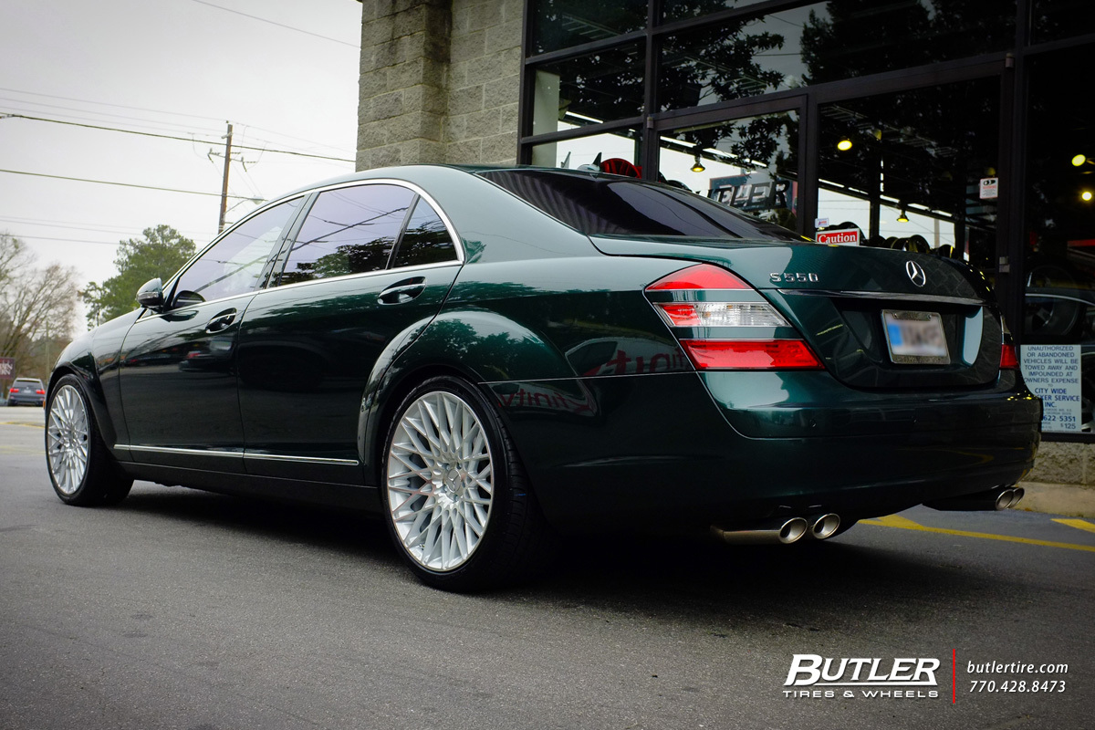 Mercedes S-Class with 20in Niche Citrine Wheels