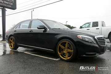 Mercedes S-Class with 20in Savini BM11 Wheels