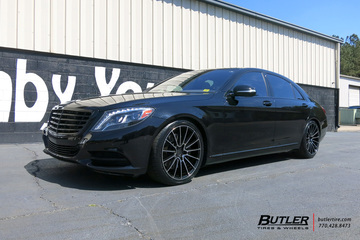 Mercedes S-Class with 20in Savini BM16 Wheels