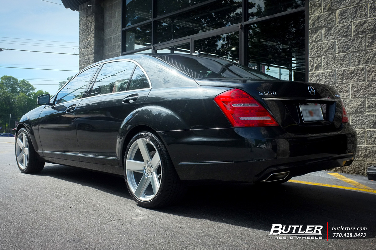 Mercedes S-Class with 20in TSW Bristol Wheels