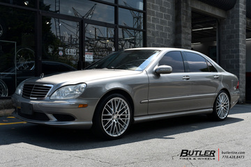 Mercedes S-Class with 20in TSW Max Wheels