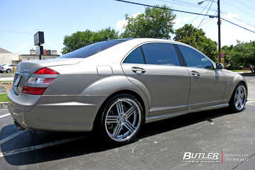 Mercedes S-Class with 20in TSW Nouvelle Wheels