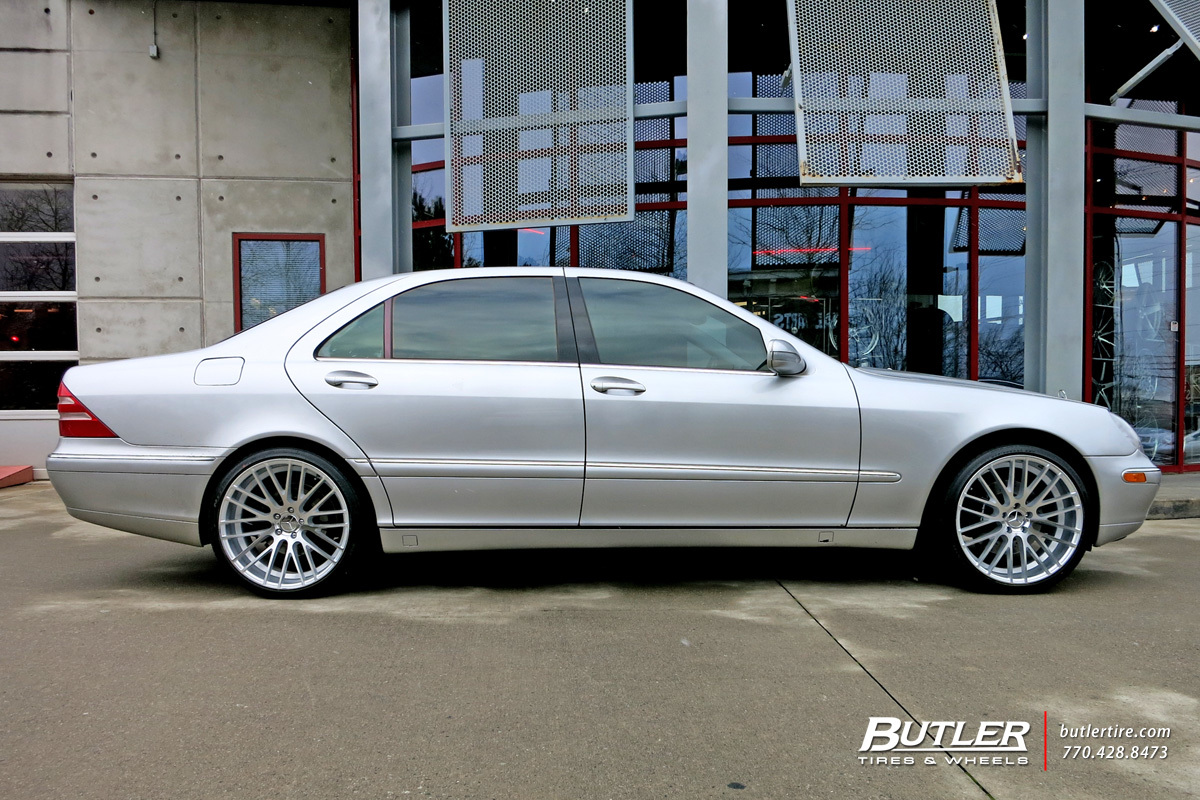 Mercedes S-Class with 20in TSW Parabolica Wheels