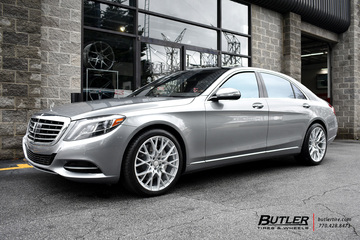 Mercedes S-Class with 20in TSW Sebring Wheels